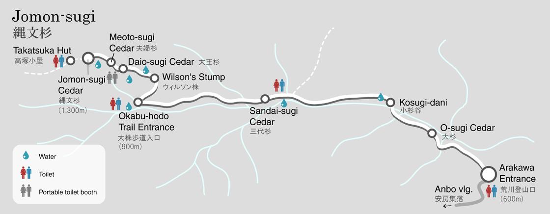 Meet Jomonsugi One Day Tour Yakushima Geographic English Tour - Japan map yakushima